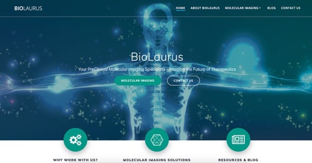 Biolaurus.com new website layout